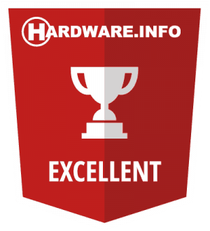 hardware.info excellent award