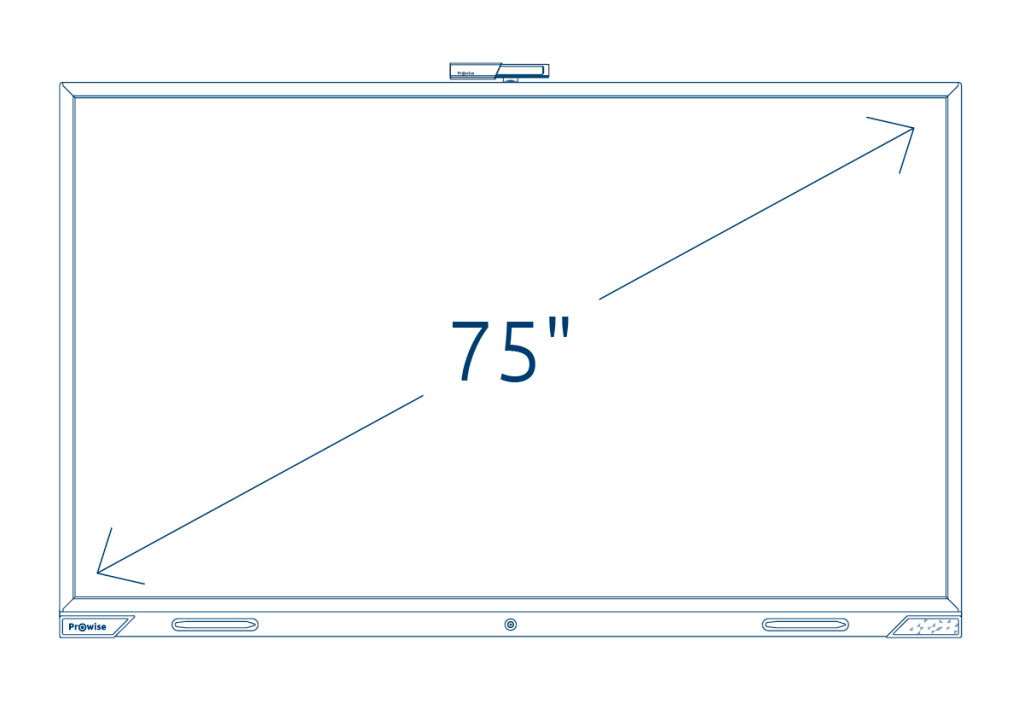 Prowise Touchscreen 75 inch