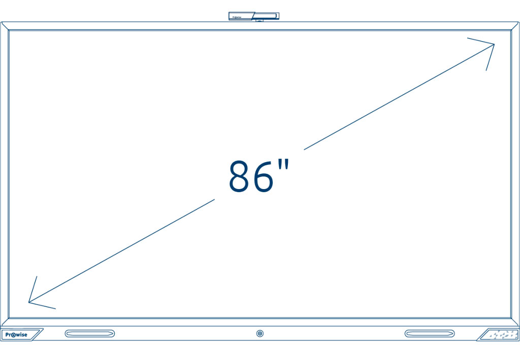 Prowise Touchscreen 86 inch