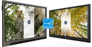 two touchscreens with energy star logo