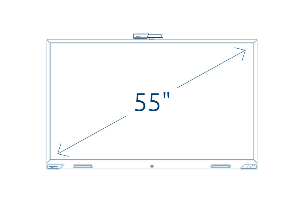 Prowise Touchscreen 55 inch
